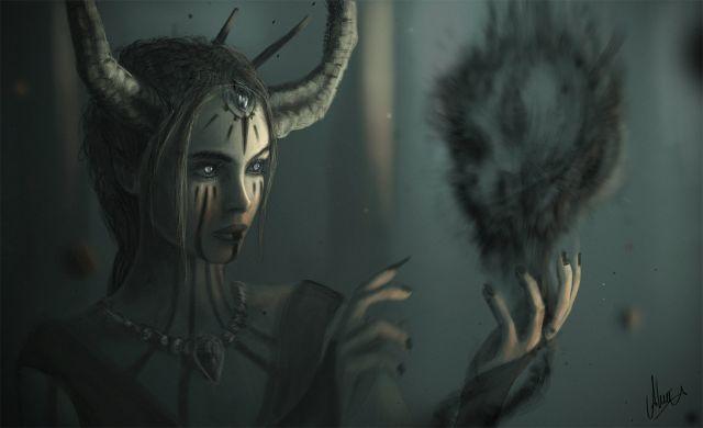 Тьма,Смерть,Духи